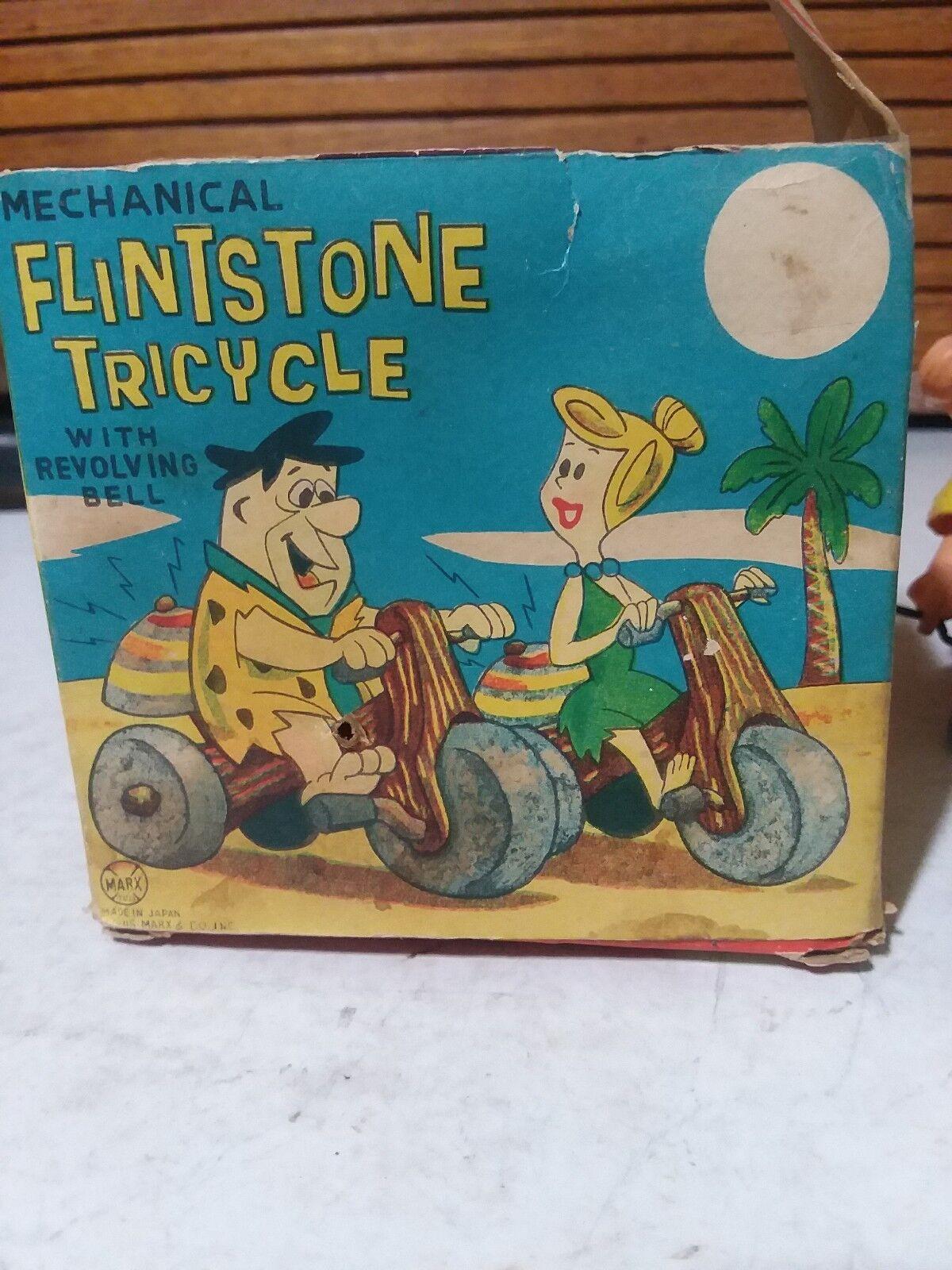 Vintage Marx Wilma Flintstone Flintstone Flintstone Tricycle 1962 a8539f