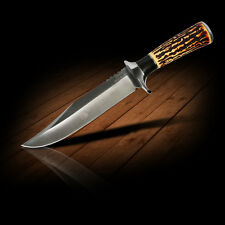 Columbia Jagdmesser Outdoor Edelstahl Rostfrei Bowie Messer Camping Angeln Knife