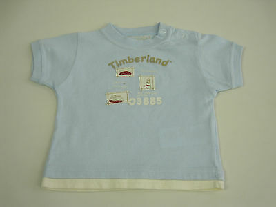Timberland Baby Boys Round Neck T Shirt size 6 months Colour Green White