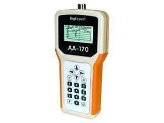 RIGEXPERT AA-170 ADVANCED ANTENNA ANALYSER (0.1-170MHz)  NEW MODEL