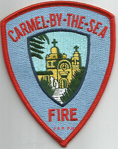 """fire patch Los Angeles County  LIFEGUARD California 4.5/"""" x 4/"""" size"""
