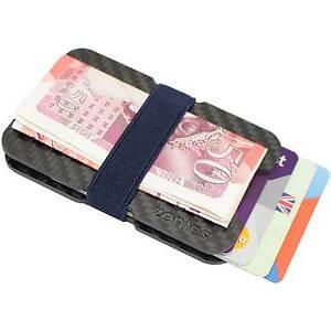 Carbon-Fibre-Wallet-Money-Clip-Ultra-Slim-ID-Credit-Card-Holder-RFID-Protection
