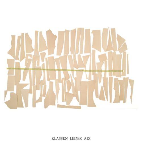 Blank cuero punzieren cuero cuero genuino naturaleza cuero teñido restos Leather p49