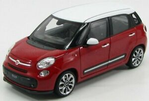 WELLY 1/24 FIAT | 500L CITY 2013 | RED WHITE
