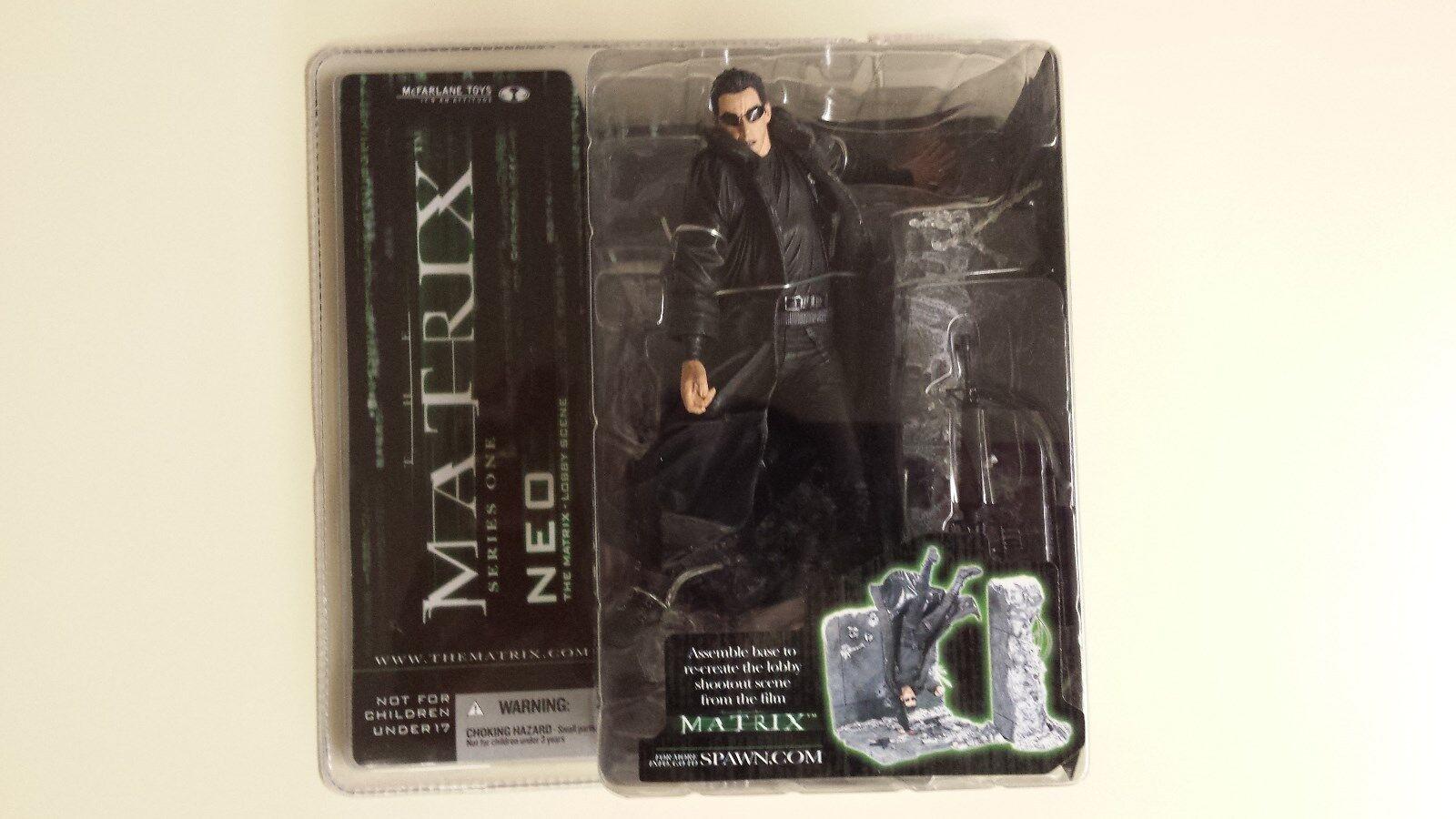 The Matrix- Lobby Scene- Neo- McFarlane 2003 Original Series 1