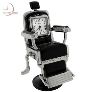 BARBER-CHAIR-MINIATURE-SALON-HAIR-STYLIST-BARBER-COLLECTIBLE-MINI-CLOCK