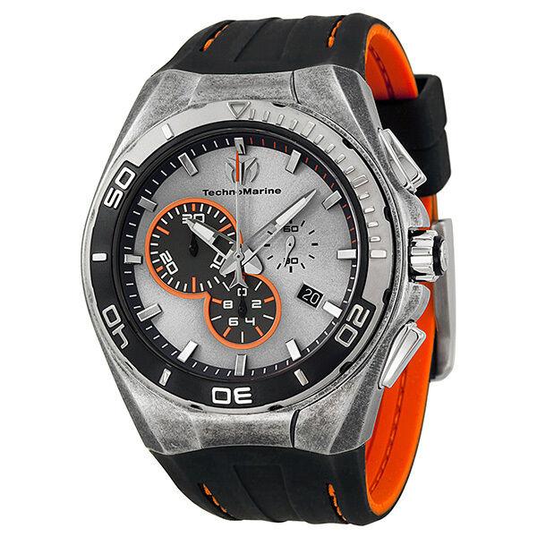 TechnoMarine Cruise Steel Evolution Chronograph Steel Case Mens Watch 112006