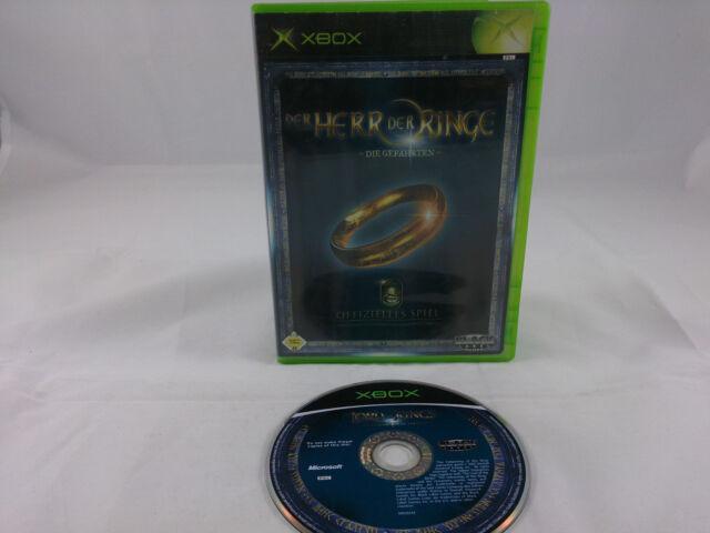Der Herr der Ringe Die Gefährten Microsoft Xbox 2002 DVD Box