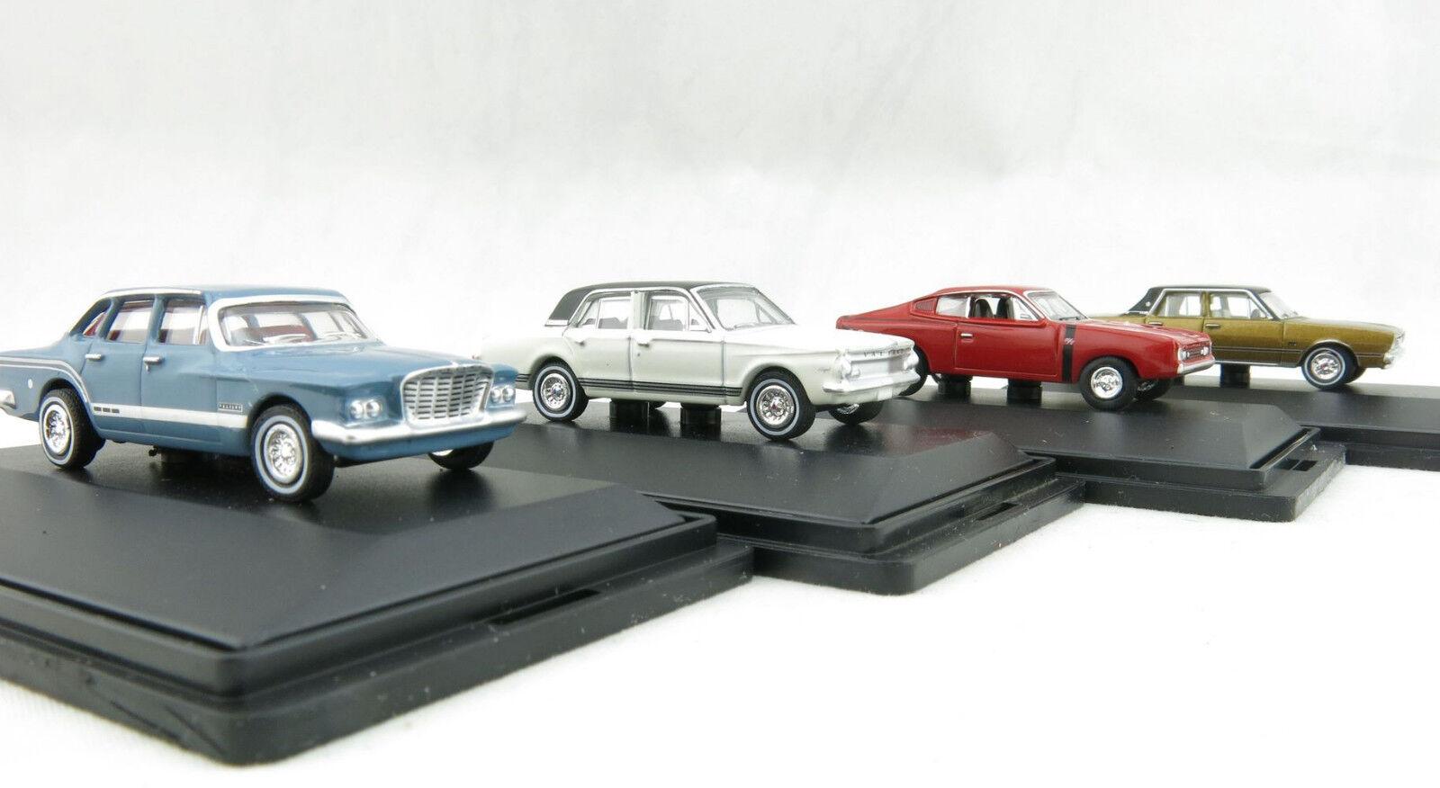 Road Ragers Australian Chrysler Valiant 4 bils S, VG, AP5 och Charger skala 1 87