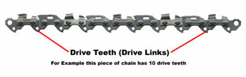 "HUSQVARNA 20/"" Chainsaw Chain for 61 365 372 576 73LPX072e by oregon"