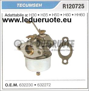 632272 Cocheburador a Tanque Tecumseh H30 H35 H50 H60 HH60