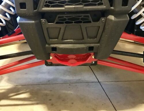 Tie Down Recovery Loop Polaris Rzr 1000 // 900 Tow Hook *RED*
