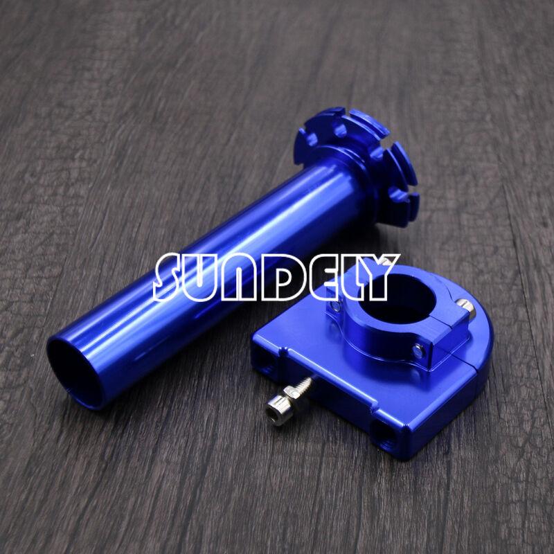"""UK Black 7//8/"""" Motorcycle Aluminum Accelerator Throttle Twist Handle Bar Level"""