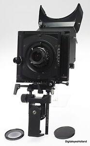 Sinar-pour-telephone-portable-4x5-034-Camera-2nd-version-w-super-ANGULON-5-6-47mm-Great-condition