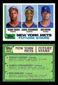"""Darryl Strawberry Doc Gooden Style Rookie """"Custom Novelty Art Card"""" Display Only"""