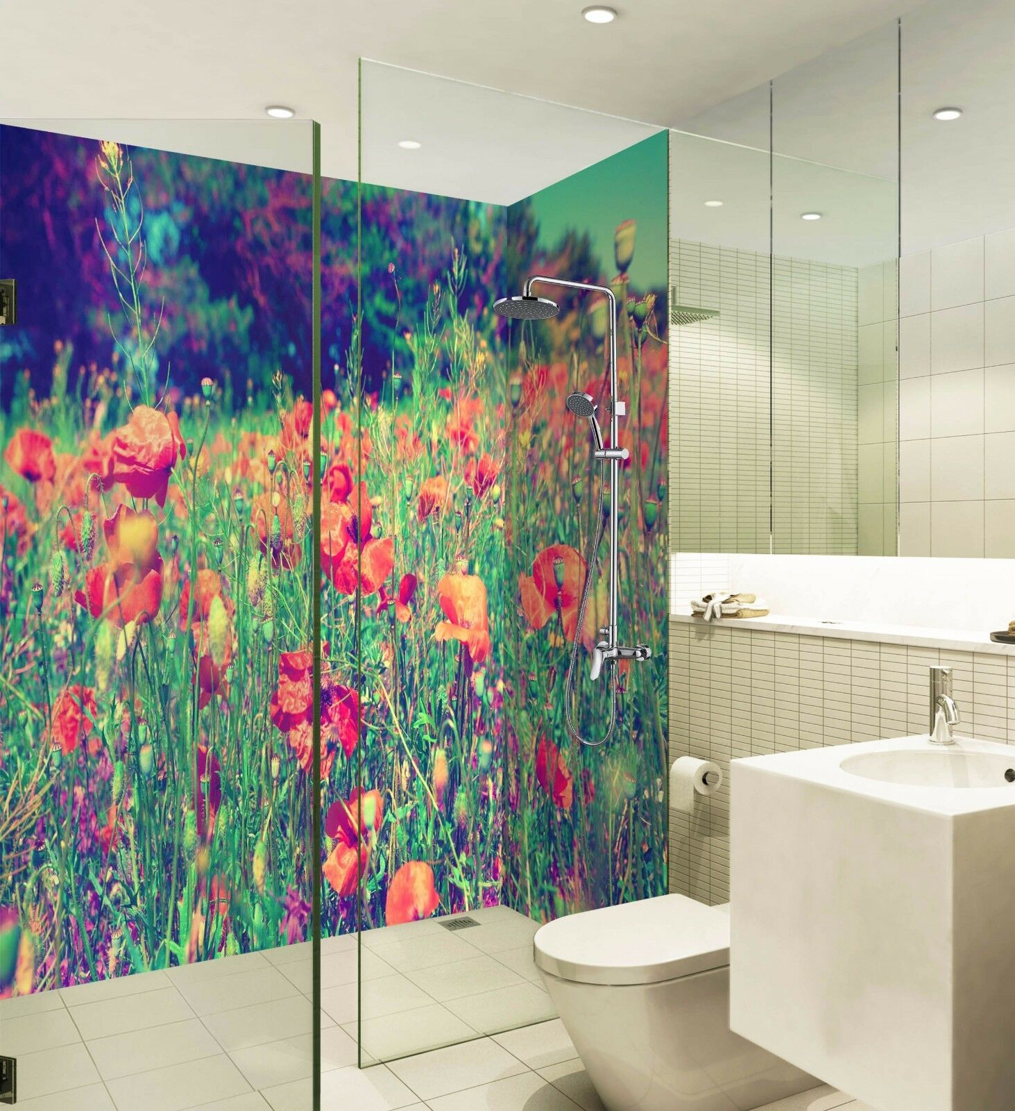 3D Grass flowers 623 WallPaper Bathroom Print Decal Wall Deco AJ WALLPAPER UK