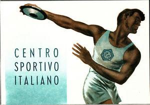 CARTOLINA-ILLUSTRATA-D-039-EPOCA-CENTRO-SPORTIVO-ITALIANO-1955