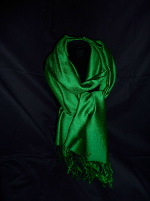 Pashmina Green Forest (Rich), Cashmere/Silk