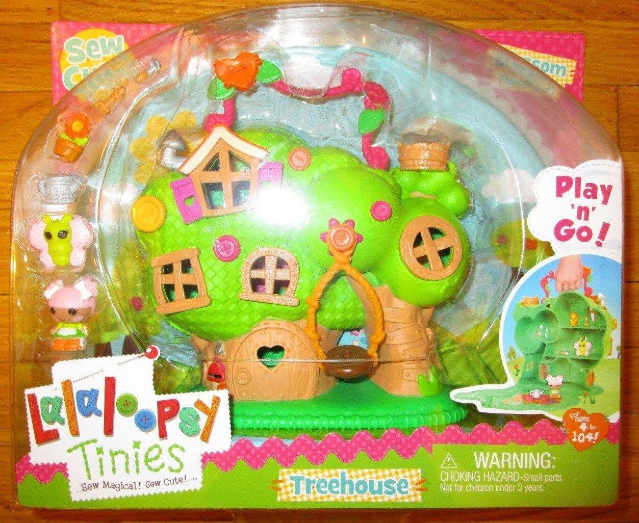 Lalaloopsy Tinies Treehouse Playset Con Flor Maceta Exclusivo