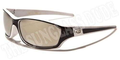 Sunglasses New Sport Designer Shades Wraps Xloop Men Women White Black XL534B
