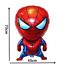 SET 2 palloncini spiderman uomo ragno alluminio