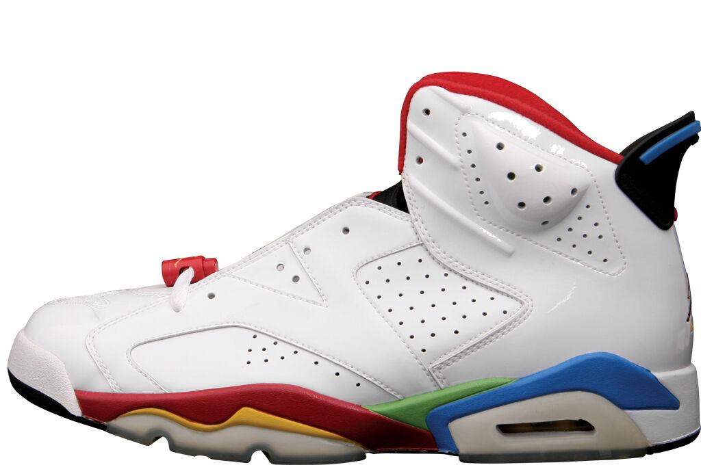 2008 Nike Air Jordan 6 VI 9.5. Retro Olympic Beijing Size 9.5. VI 325387-161 1 2 3 4 5 73265f