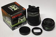 smc Pentax DA 3,2 / 21   mm AL Limited Objektiv gebraucht in ovp