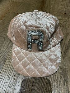 Justice Girls Quilted Initial Baseball Cap