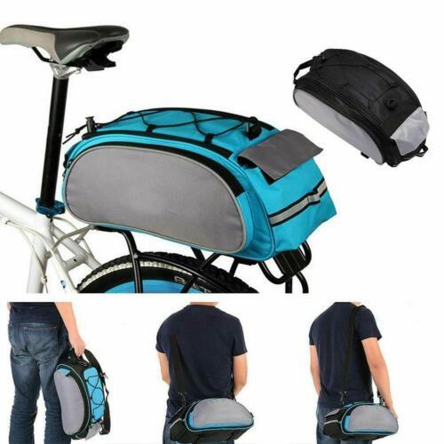 Bicycle Seat Rear Bags Waterproof Bike Rack Pack Shoulder Multifunction