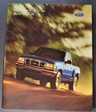 1999 Ford Ranger XL XLT XL Sport XLT Sport Pickup Truck Dealer Sales Brochure
