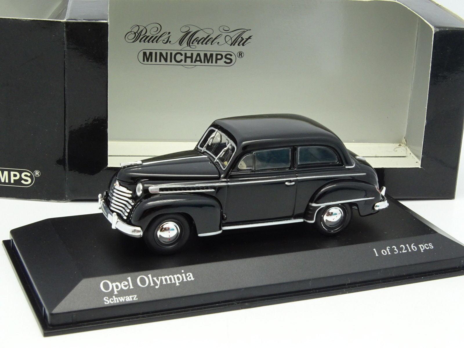 Minichamps 1 43 - Opel Olympia Negra