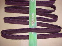 20+y Bomar Grape Cording Fabric Upholstery Trim Crafts