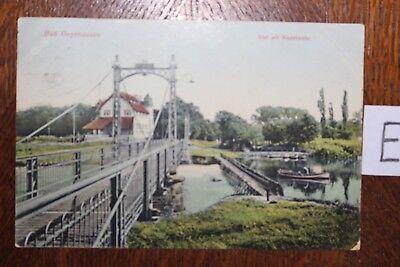 Postkarte Ansichtskarte Nordrhein Westfalen Lithografie Bad Oeynhausen