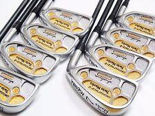 2star 18K HONMA Twin Marks CrossAttack-Ⅱ 8pc R-Flex IRONS SET Golf inv 2747_1
