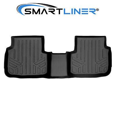 SMARTLINER Custom Fit Floor Mats 2nd Row Liner Black for 2019 Ford Ranger SuperCrew Cab