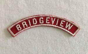 white strip Community red