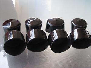 8pk 2 1 4 Quot Round Vinyl End Cap 2 25 Quot Pvc Rubber Plastic