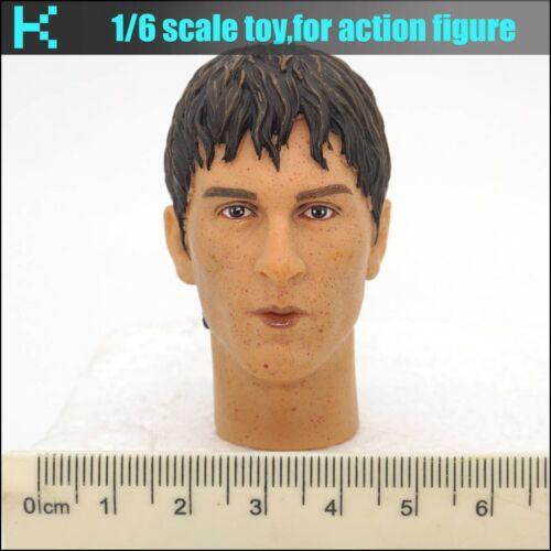 L04-16 1//6 scale action figure messi head sculpture