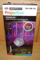 Gemmy Led Halloween Phantasm Multicolor Turning Swirling Projection Light Show