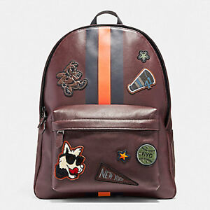 Coach-Bag-F12125-Charles-Backpack-in-Smooth-Calf-Leather-Varsity-Patch-Agsbeagle