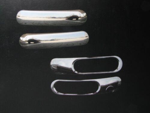 Stoßstangenset 4tlg  Verkleidung in  CHROM FÜR VW NEW BEETLE 1999-2006