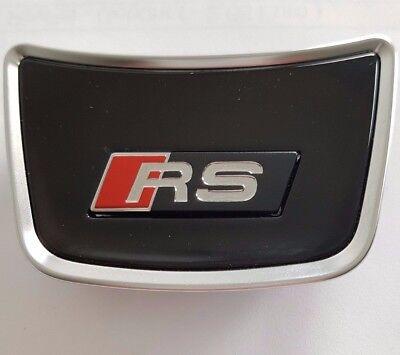 Audi a6 4g original rs6 volante clip c7 logotipo clip letras cheers emblema volante