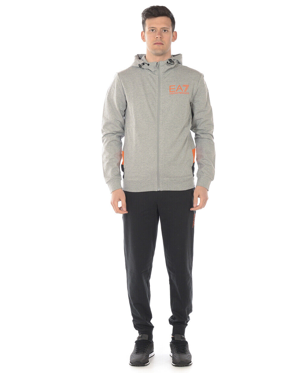 Emporio Armani Ea7 Tracksuit Cotton Man grau 3GPV68 PJ05Z 29BM Sz. S PUT OFFER