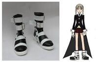 Soul Eater Maka Albarn Cosplay Costume Boots Boot Shoes Shoe UK