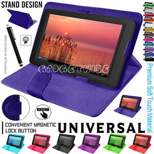 Magnetic-Flip-Leather-Cover-Case-For-Amazon-Kindle-Fire-7-034-amp-Alcatel-Pixi-4-7-034