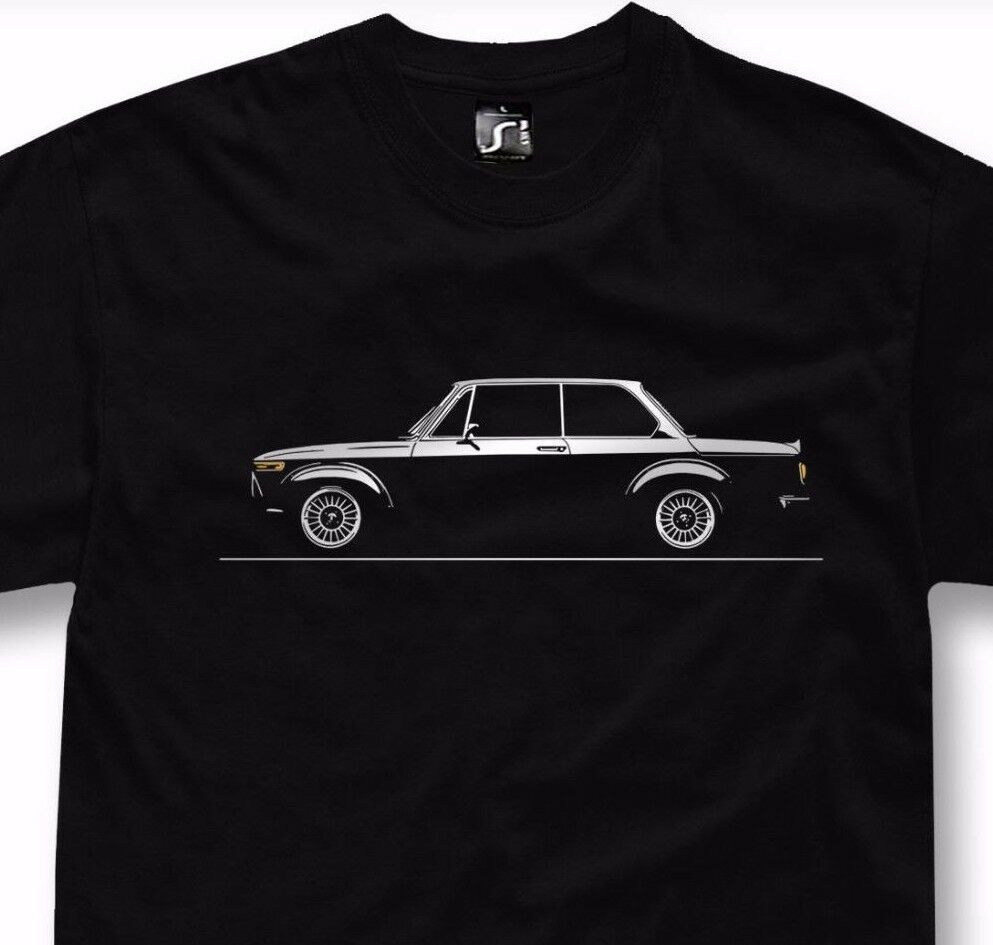 T-shirt for bmw 2002 fans 2002tii turbo 1602 1802 bavaria classic car + hoodie