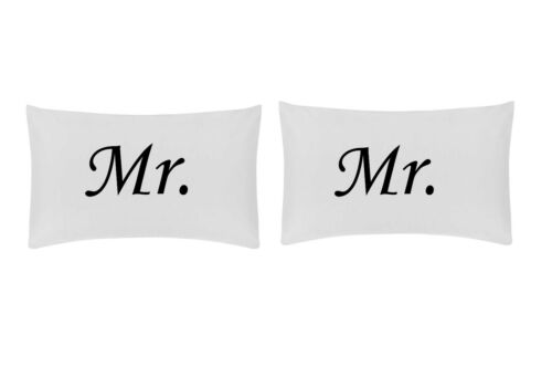MR /& MR-Taie d/'Oreiller Set