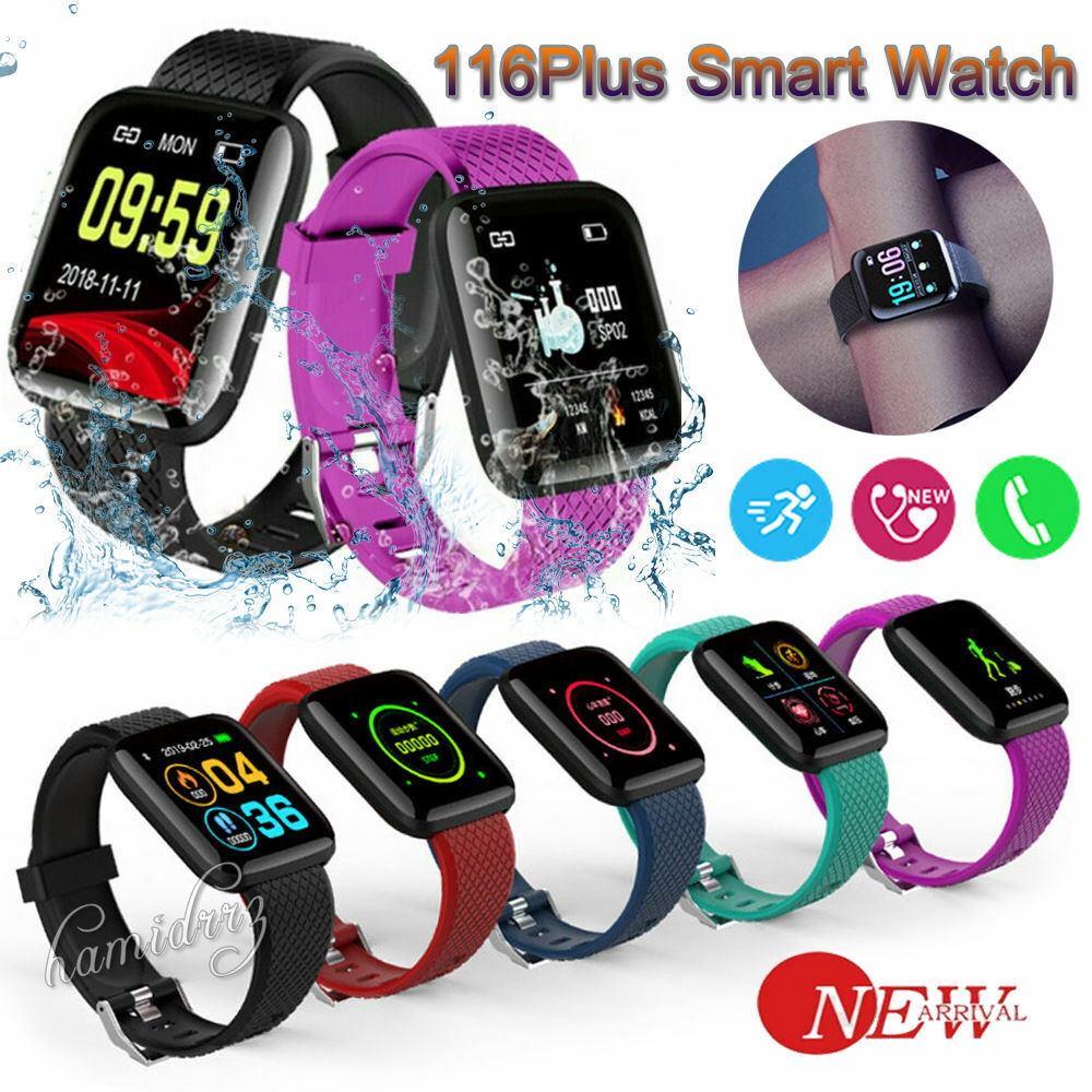 Fitness Tracker Activity Smart Watch Band Heart Rate Oxygen