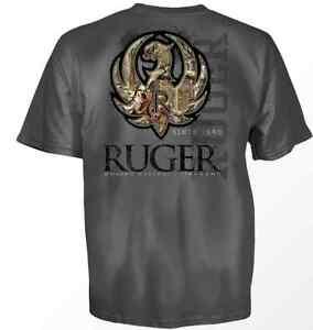 RUGER-FIREARM-CAMO-STITCH-EAGLE-AMERICA-FLAG-GUN-MILITARY-MENS-T-TEE-SHIRT-S-3XL