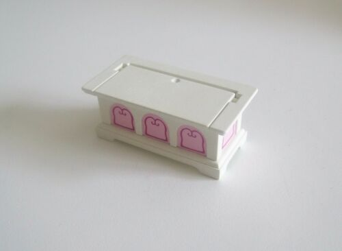 PLAYMOBIL PRINCESSES H3104 Coffre Blanc /& Rose Banquet 5145